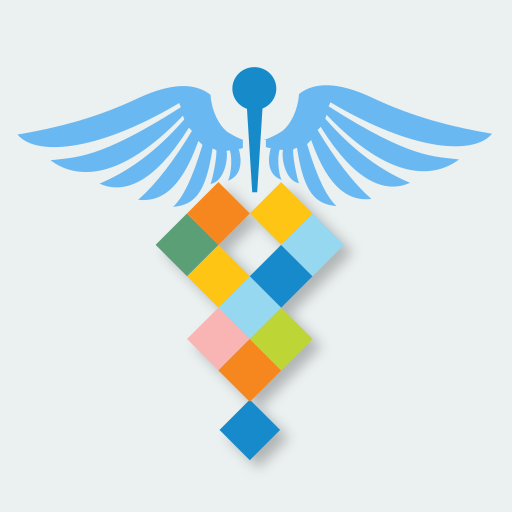 Icon for the Healthcare Pro DNA Analysis App that provides genetic interpretation of genome data with a focus on healthcare professionals for identifying personalized genetic risk of diseases and medication rxns (pharmacogenomics and pharmacogenetics).