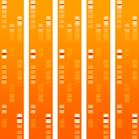 DNA artwork personalized to your genes or genome sequencing data