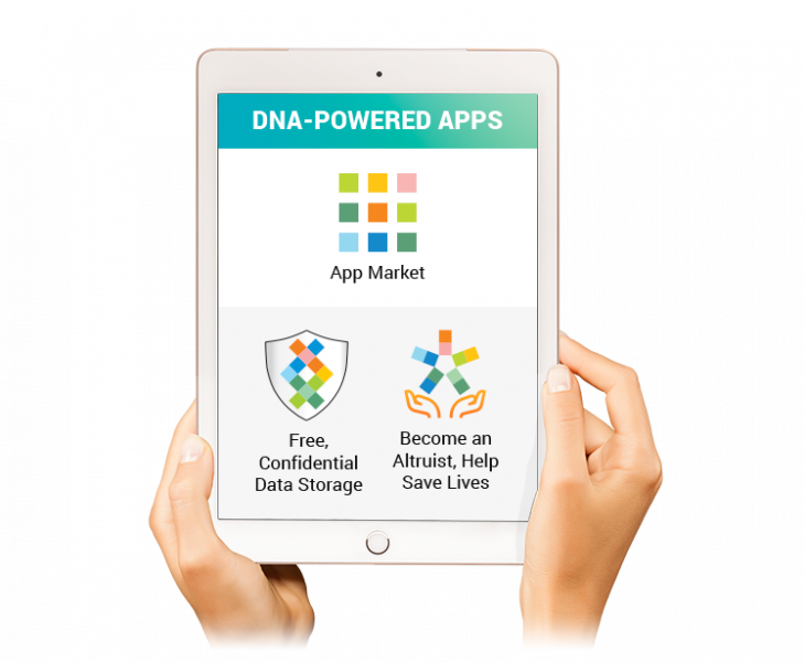 Sequencing.com includes a DNA App Market as well as free, confidential storage and protection of DNA data from all genetic testing and genome sequencing that's HIPAA-compliant, HITECH, Privacy Shield and GDPR compliant. The Altruist Center and Altruism Rewards provides incentive to make your anonymous genetic data accessible to researchers, scientists and the world.