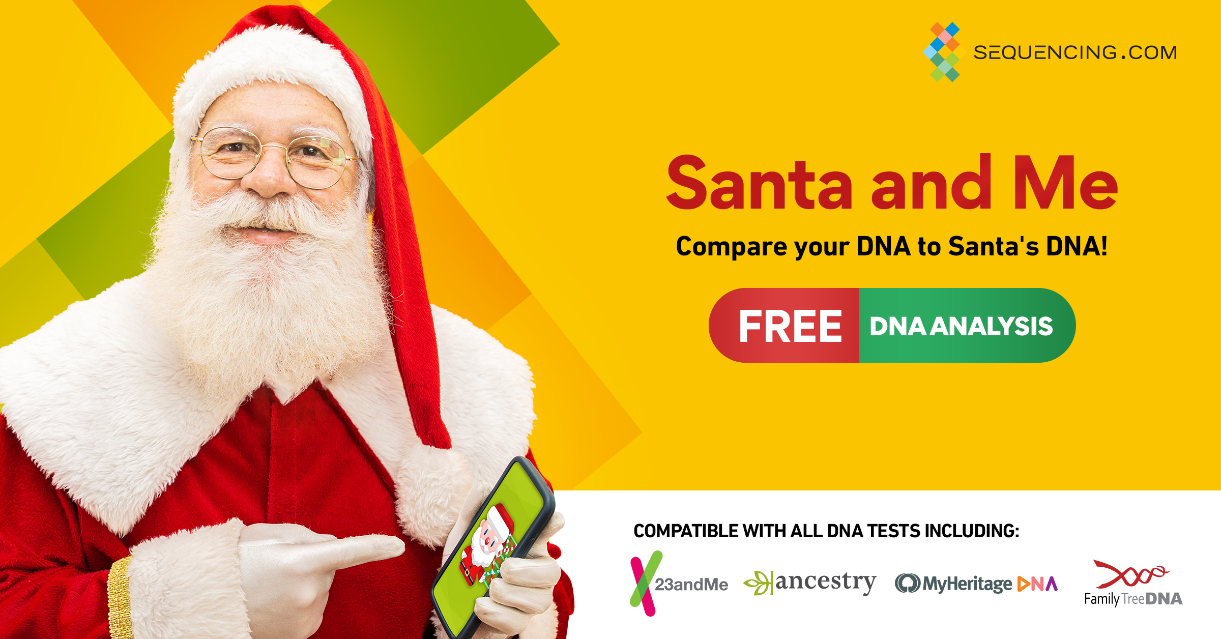 Santa and Me raw DNA data analysis