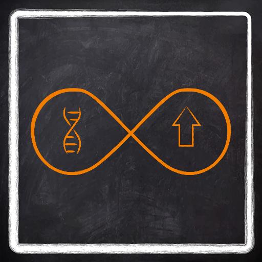 Unlimited genetic data storage icon