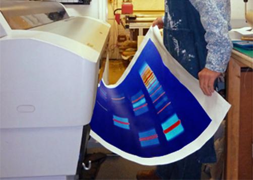 DNA Art printing