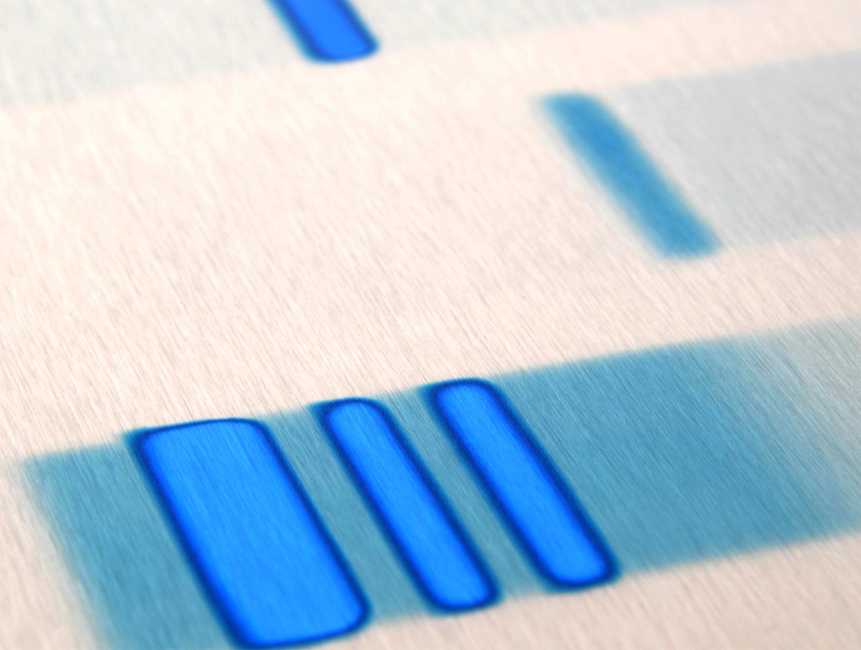 DNA art metal