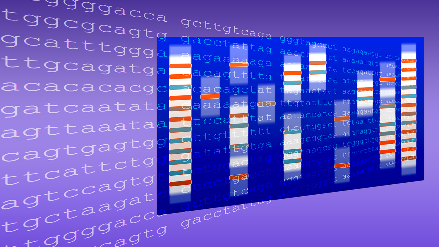 Creating art from DNA data