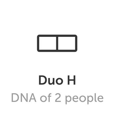 DNA art Duo H format