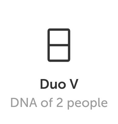 DNA art Duo V format