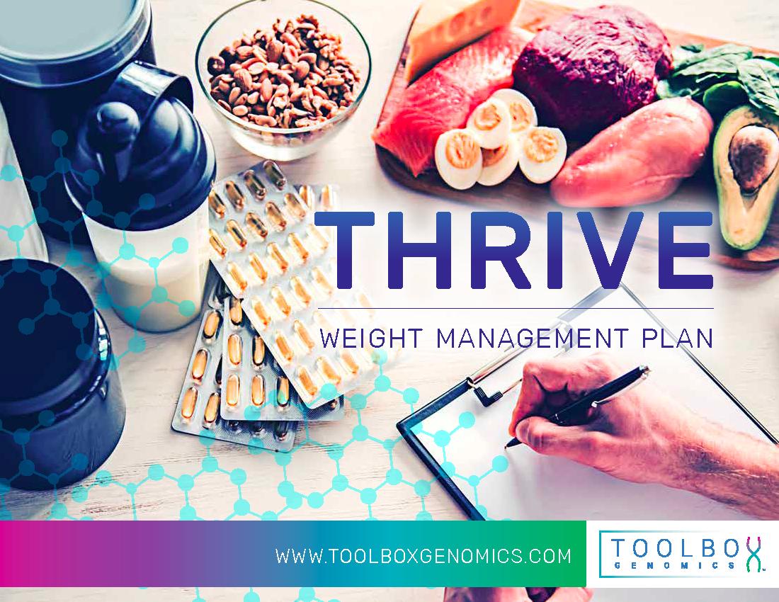 Thrive DNA app analysis provides the a nutrigenomics DNA diet plan.