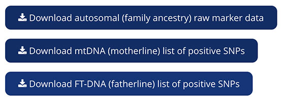 Living DNA data download instructions and guide to help access, download, obtain and use genetic testing results and genetic data directly from a LivingDNA account.