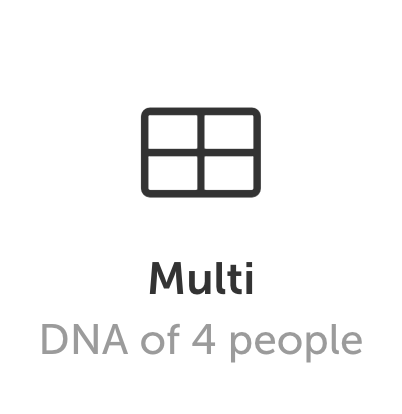 DNA art Multi format for families