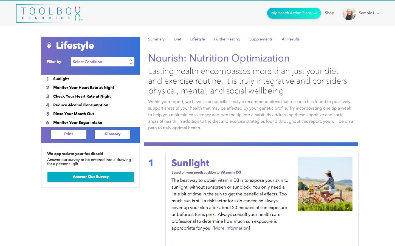 Nourish - Lifestyle Tips