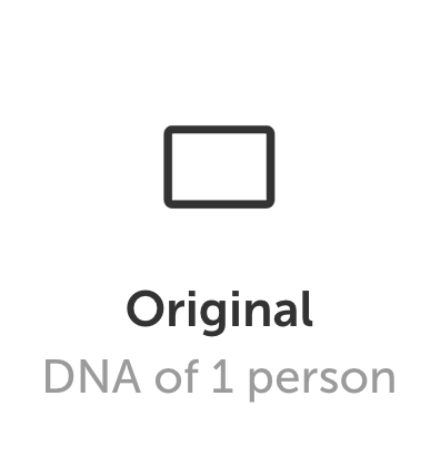 Original format layout image for DNA Art US genetically tailored personalized artwork in the Sequencing.com Genome App Store