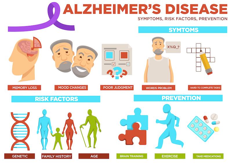 risk factors of alzheimers
