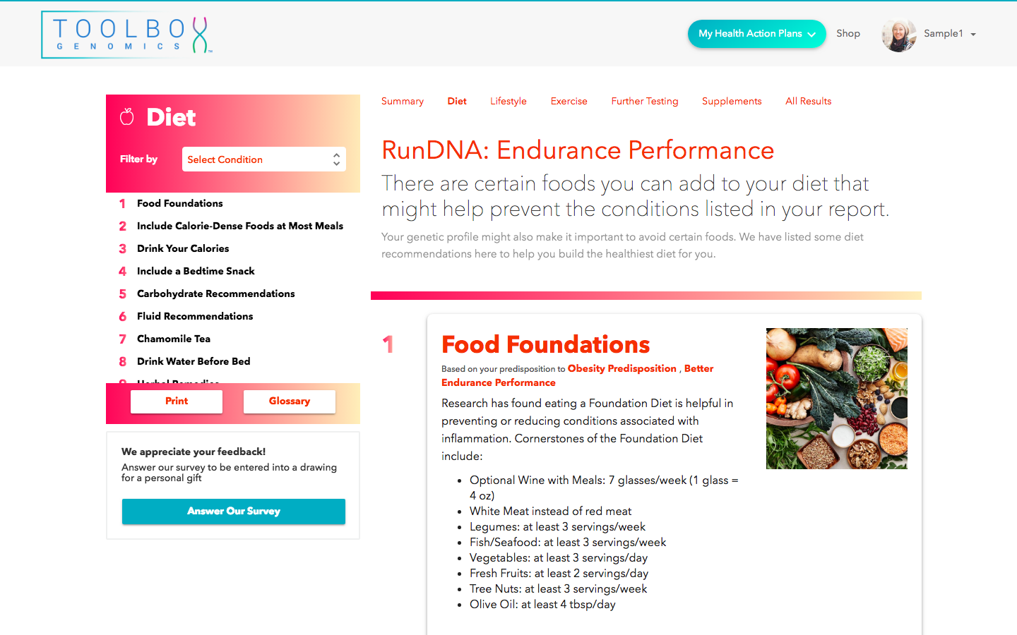 RunDNA - Nutrition Tips