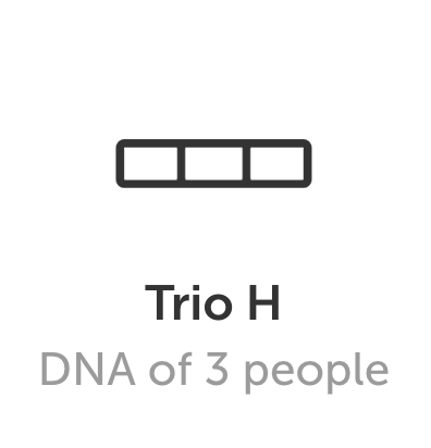 DNA art Trio H format
