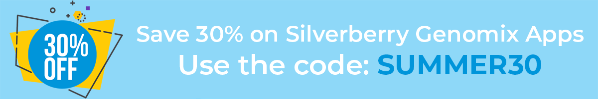 Save 30% on Silverberry Genomix apps