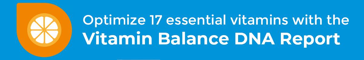 Vitamin Balance DNA Report