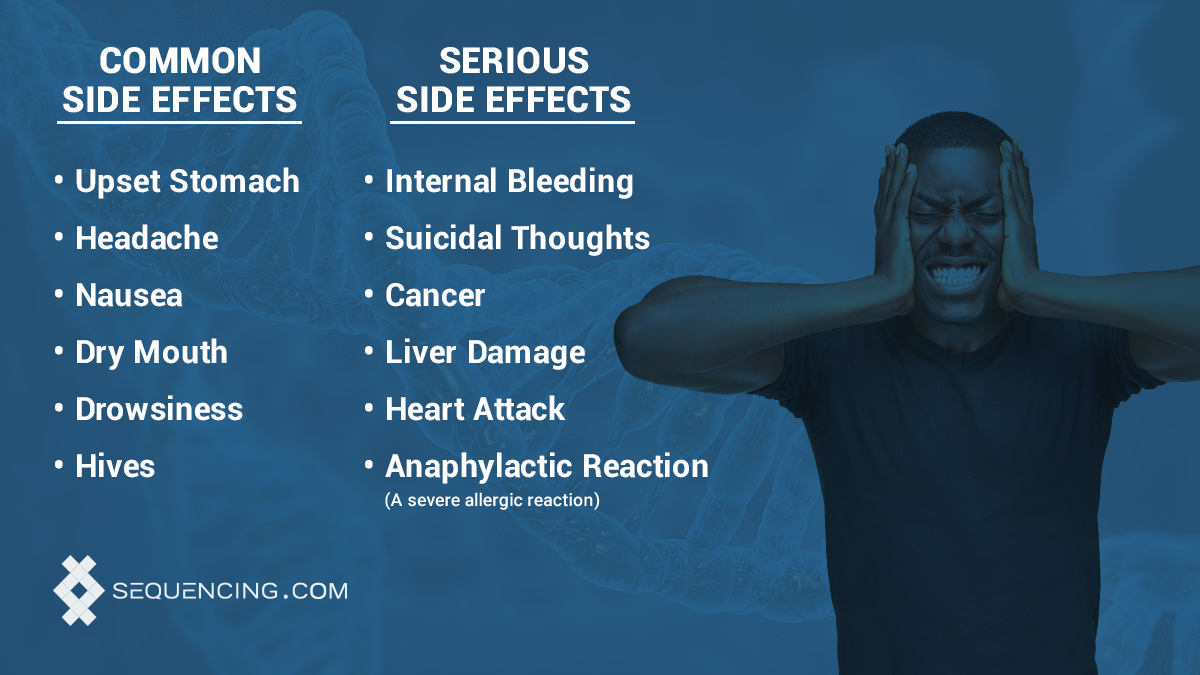 common and serious side effects