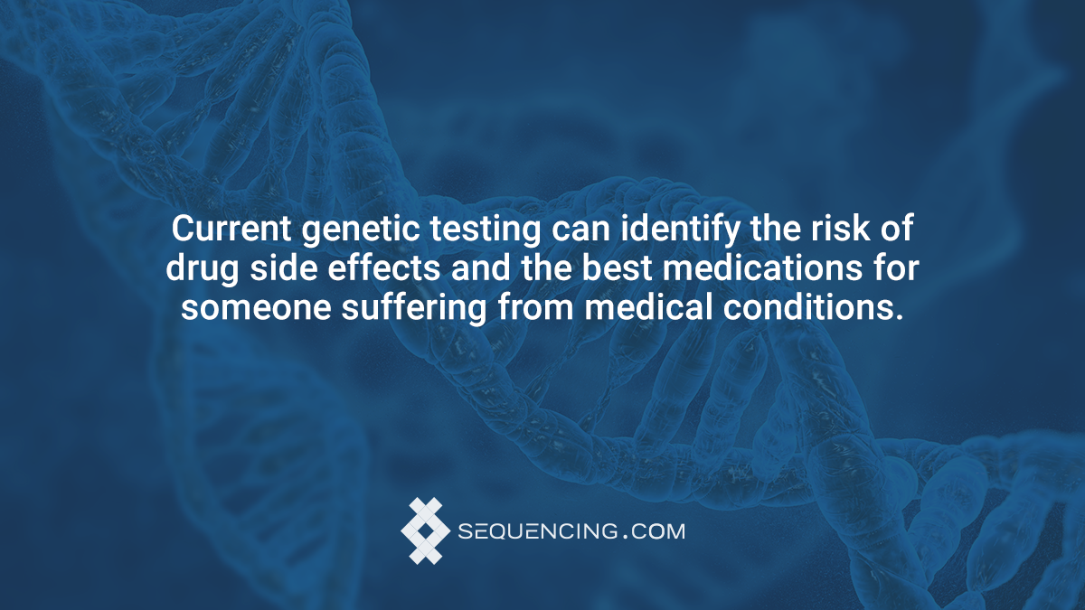 genetic testing and drug side effects