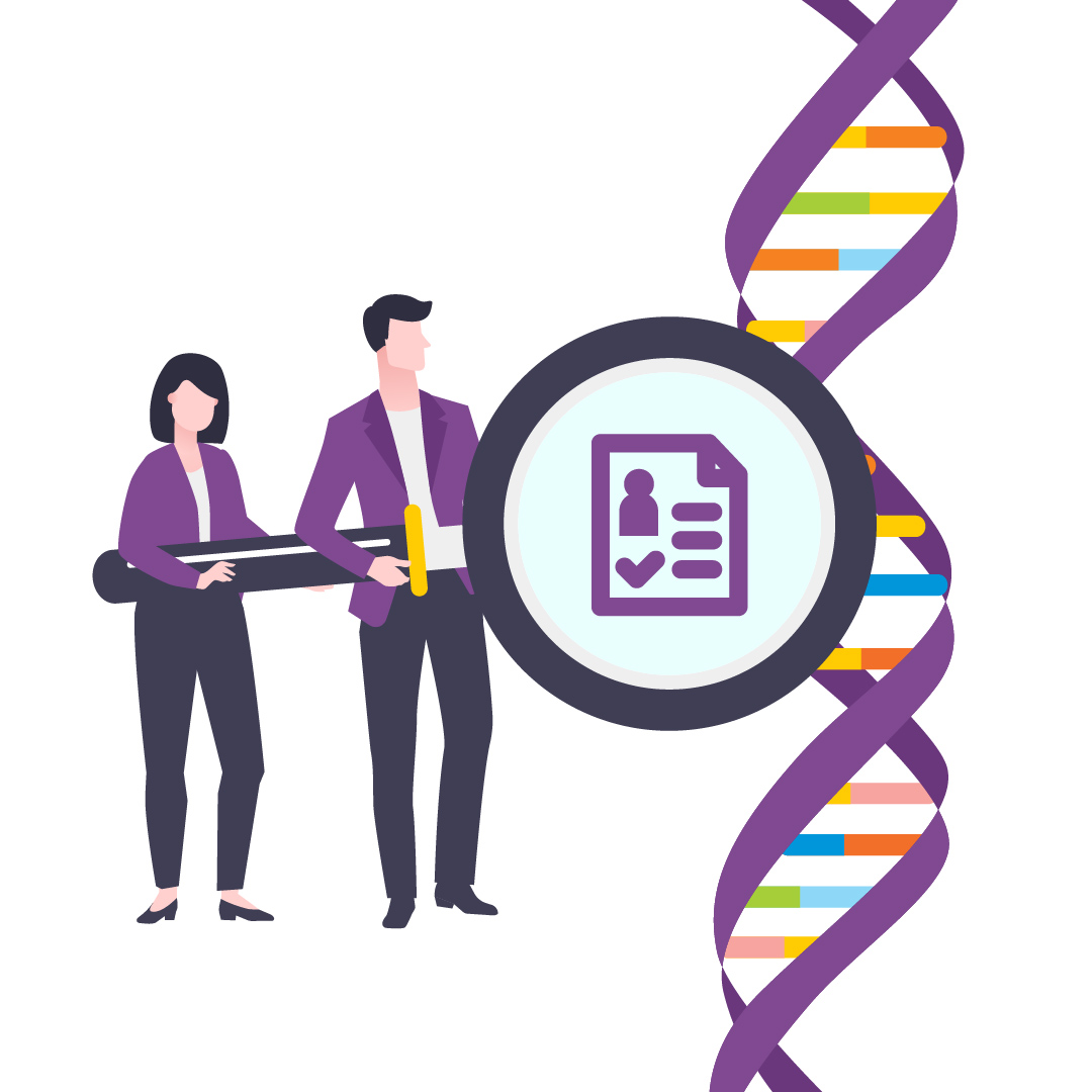 how does dna testing work