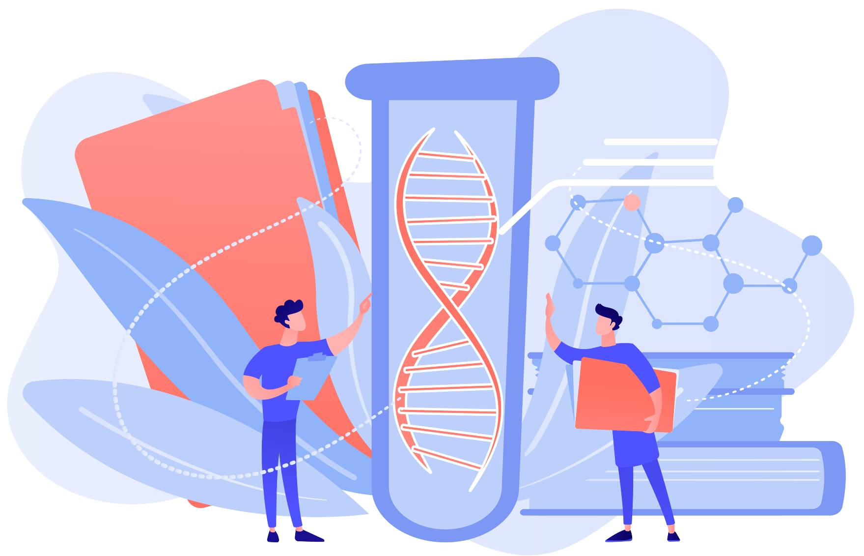 how to find biological parents through dna