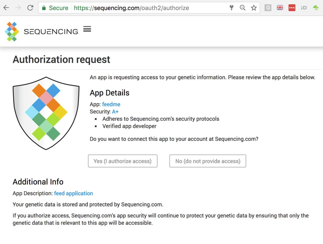 OAuth2 integration using Python | Sequencing com